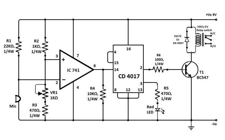 Led 1 Connected To Pin 2 Led 2 To Pin 3 Led 3 To Pin 4 The