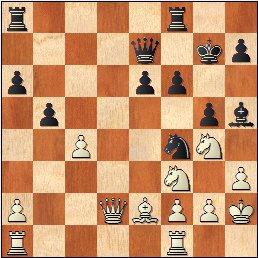 Partida de ajedrez Bayarri Ponsa vs Ribeiro, posición después de 23...Rg7?