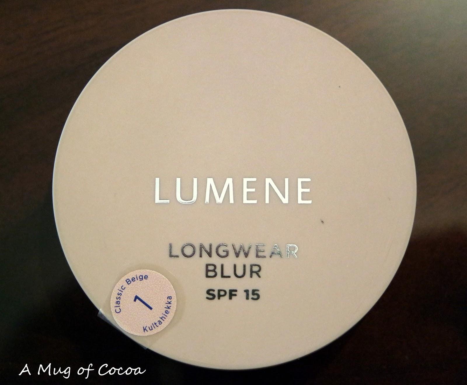 lumene longwear blur powder foundation