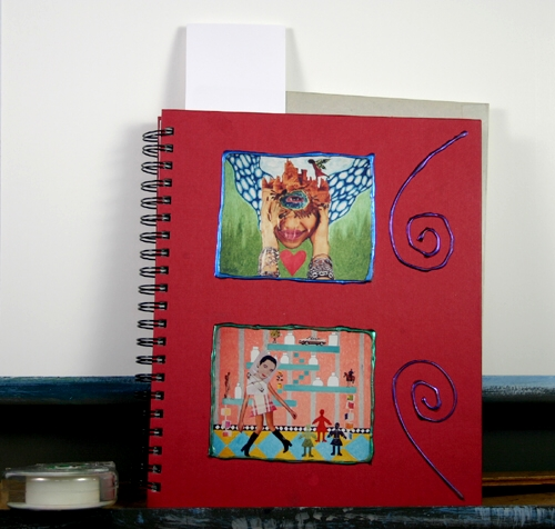 My Thinking Sketch Book in Red