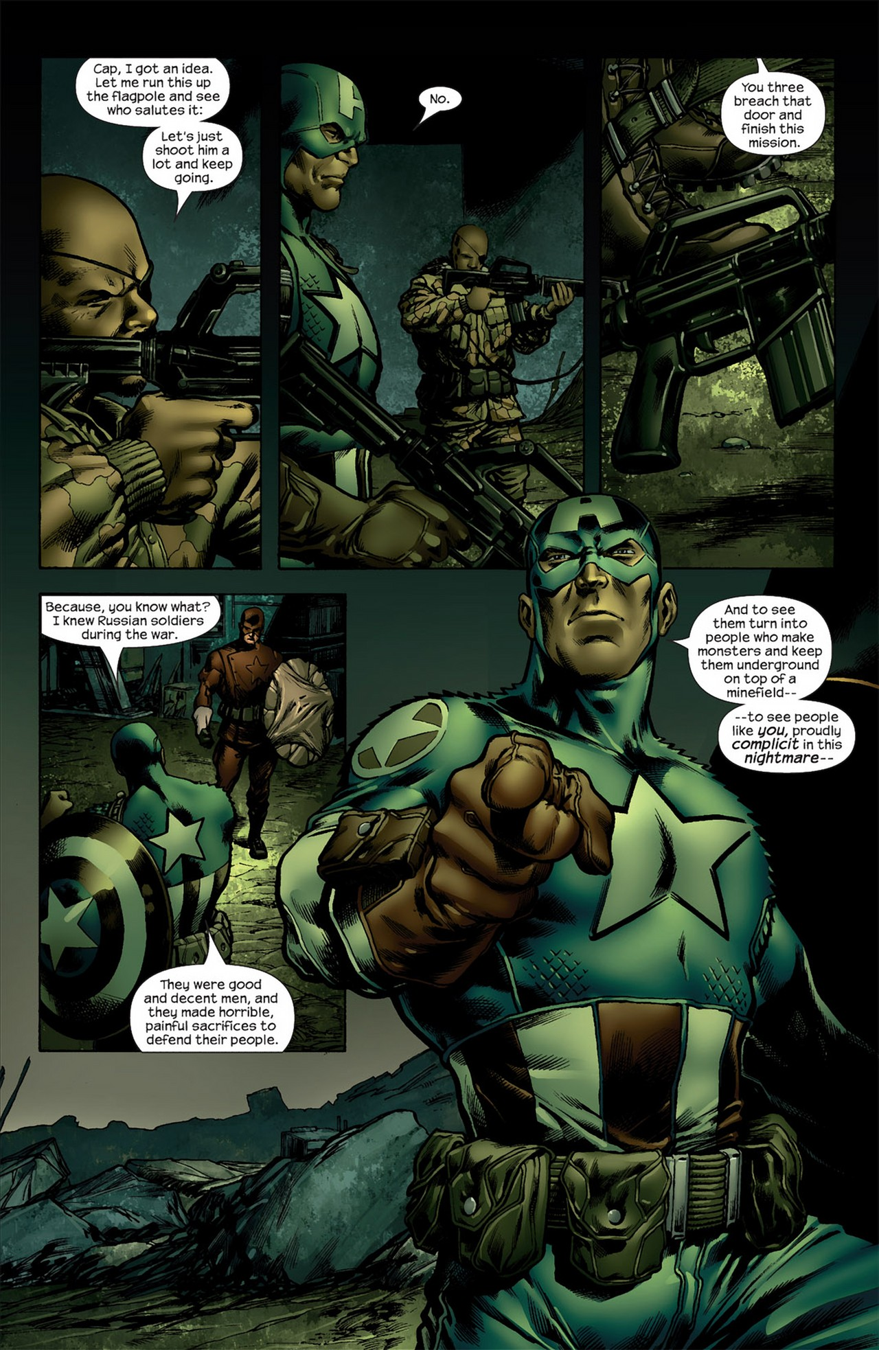 Read online Ultimate Nightmare comic -  Issue #4 - 19