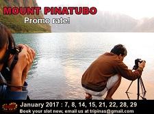 Mt. Pinatubo trek
