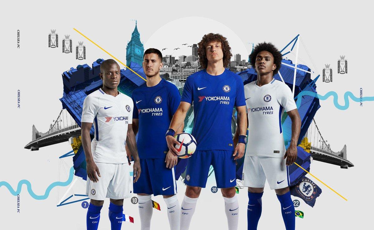 Nike Chelsea 18-19 Home Kit Leaked + Away & Third Kit Details Revealed