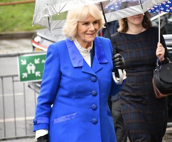 The Duchess of Cornwall visited the Granville Youth and Community Centre in Kilburn. Brent is the London Borough of Culture 2020