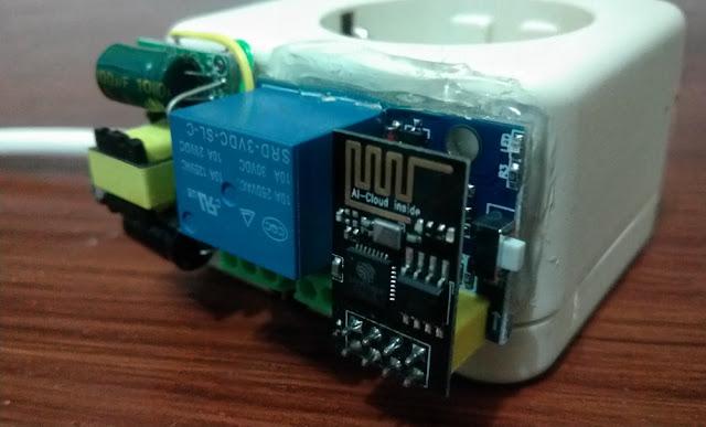 ESP01 Control Relay Module