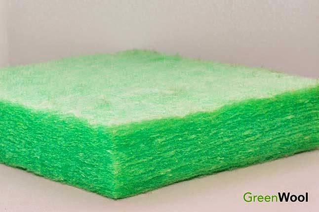 greenwool peredam suara