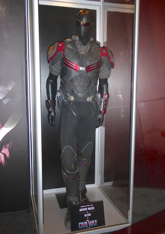 Anthony Mackie Falcon movie costume Captain America Civil War
