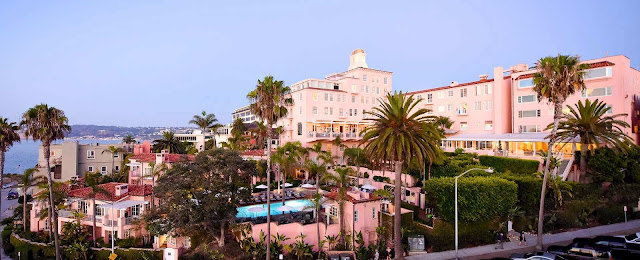 Old-world luxury waits at the iconic La Valencia Hotel, La Jolla with spacious coastal villas and suites, Mediterranean-inspired cuisine, personable service and Pacific views.