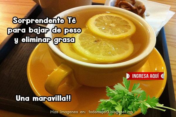 TOMA ESTE TÉ Y BAJARAS DE PESO DE MANERA SORPRENDENTE!