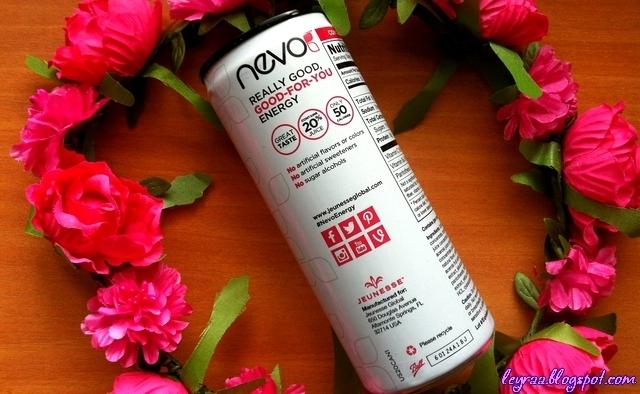 Jeunesse Nevo - zdrowy energetyk napój energetyczny