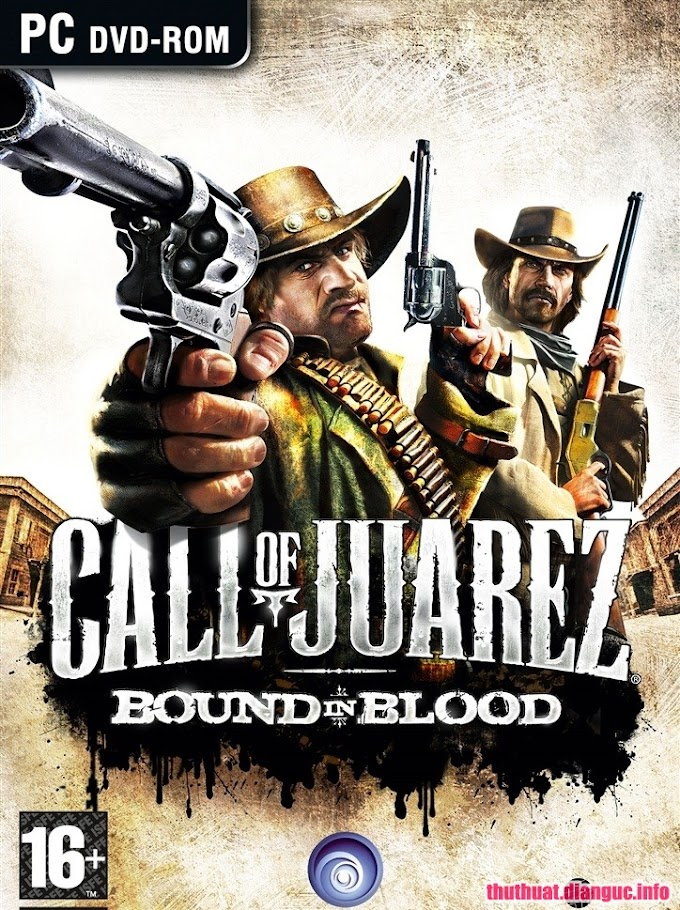 Download Game hành động Call of Juarez: Bound in Blood full crack
