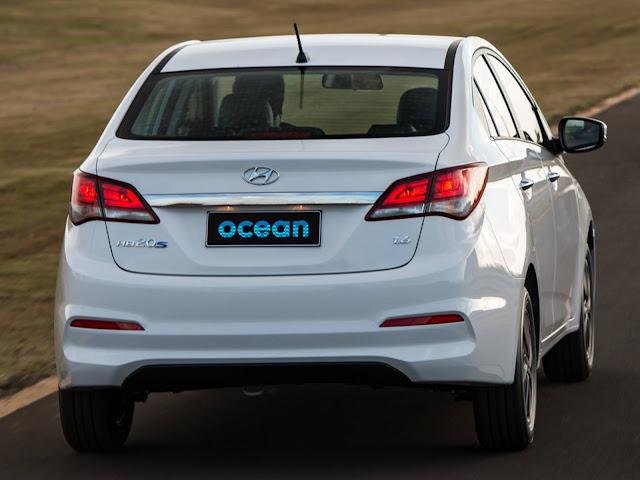 Hyundai HB20S 2017 Ocean - traseira