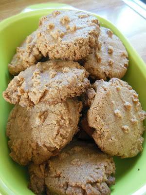 Three ingredient, Almond Butter Cookies.