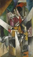 Cubismo Analítico - 'Mujer con animales' de Gleizes