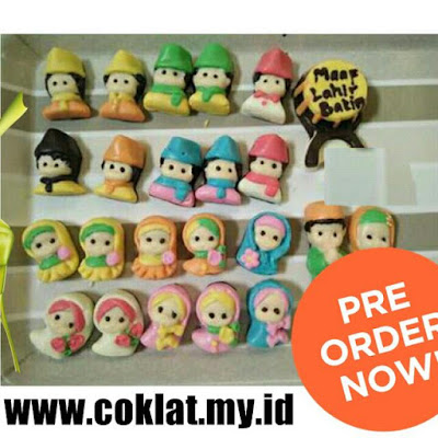 Pre-order Coklat Karakter ACDC Kaia Coklat Edisi Lebaran