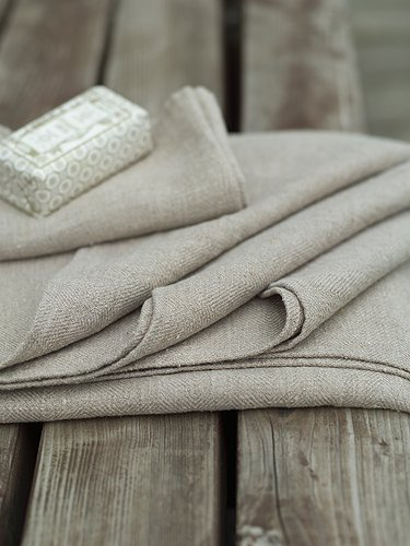 Natural Linen Bath Towels Set 65 x 130cm and 100 x 140cm and 2 Hand Towels 47 x 70cm, LARA, in the emporium by linenandlavender, http://www.linenandlavender.net/p/blog-page_3.html