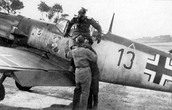 Luftwaffe ace Mickey Sprick 28 June 1941 worldwartwo.filminspector.com