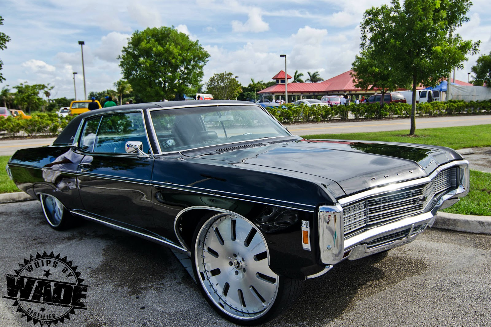 Whips By Wade: 1969 Chevrolet Caprice on Brushed 26