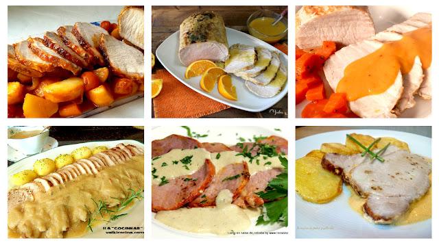 6 recetas con lomo de cerdo fáciles