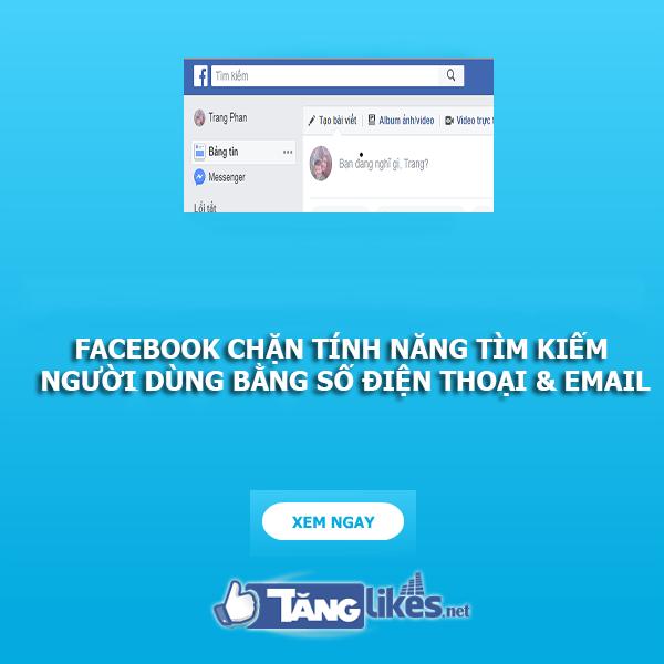 facebook chan tim kiem so dien thoai va email