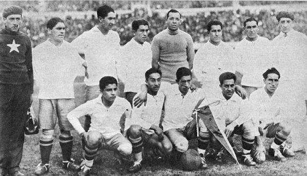 Formación de Chile ante Argentina, Copa del Mundo Uruguay 1930, 22 de julio