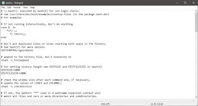Linux Line Ending