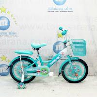Sepeda Anak Pacific Doraermon Lisensi CTB 4-7 Tahun Steel Caliper/Tromol 16 Inci