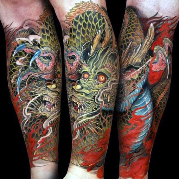 75 Best Dragon Tattoos For Guys 2019 Medievil Chinese Tattoo