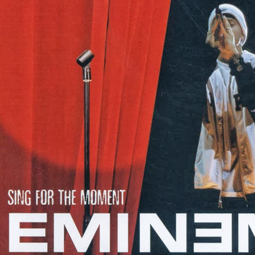Eminem - Sing For the Moment - EP  Cover