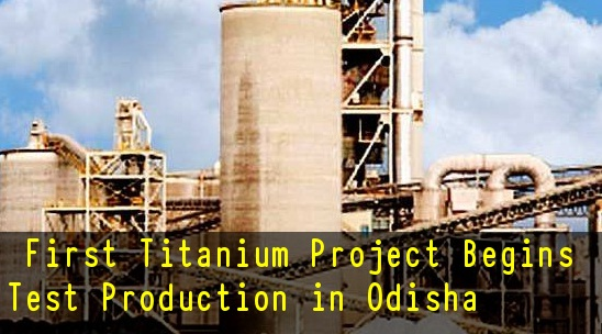 Image result for First Titanium Project in India