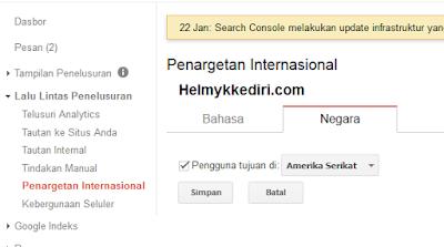 Cara Menetukan Target Negara Visitor Blog