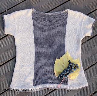 lniany sweterek