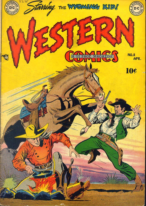 Western Comics 8 Page 1