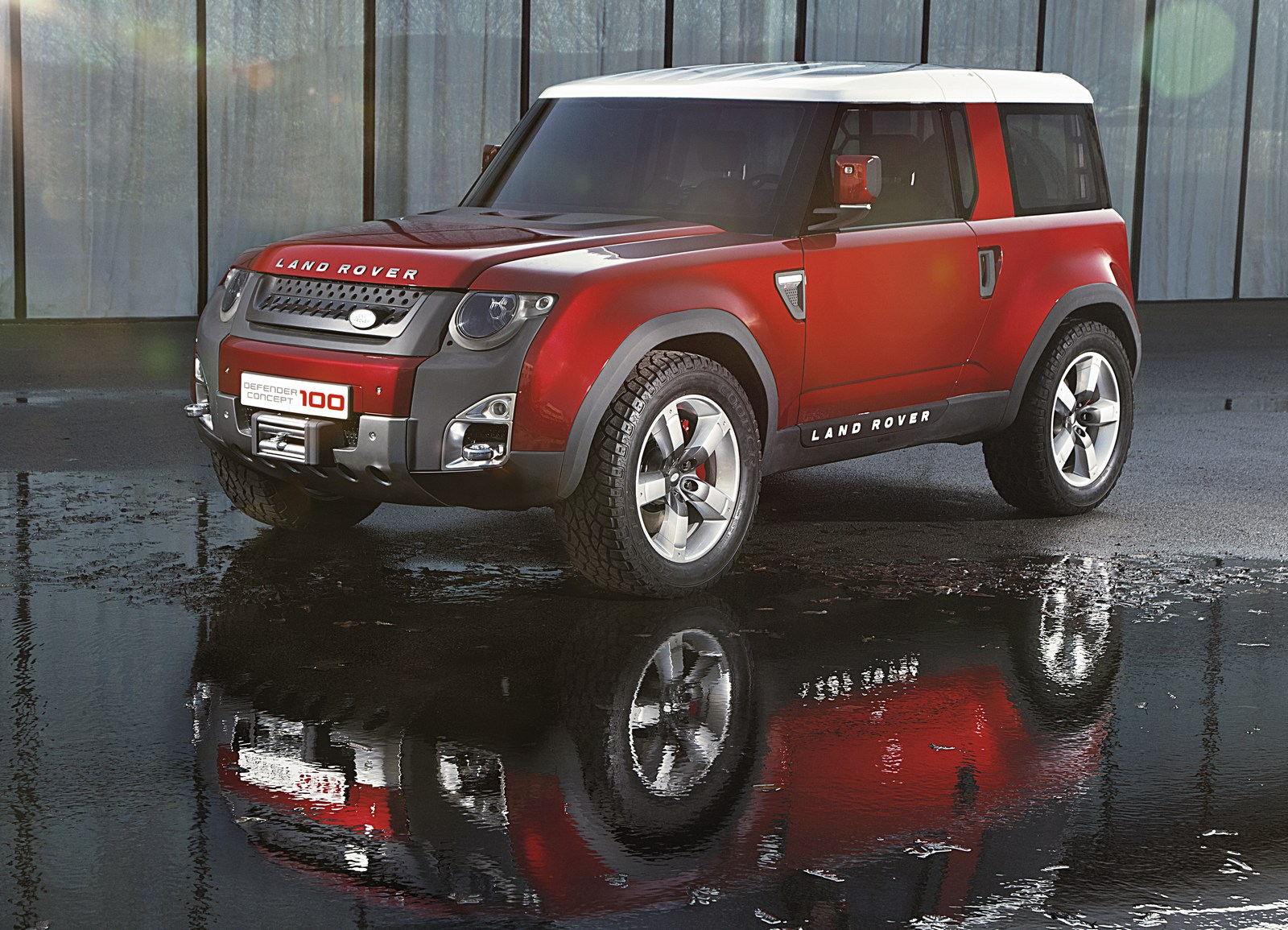 new land rover defender concept could be introduced next year carscoops. Black Bedroom Furniture Sets. Home Design Ideas