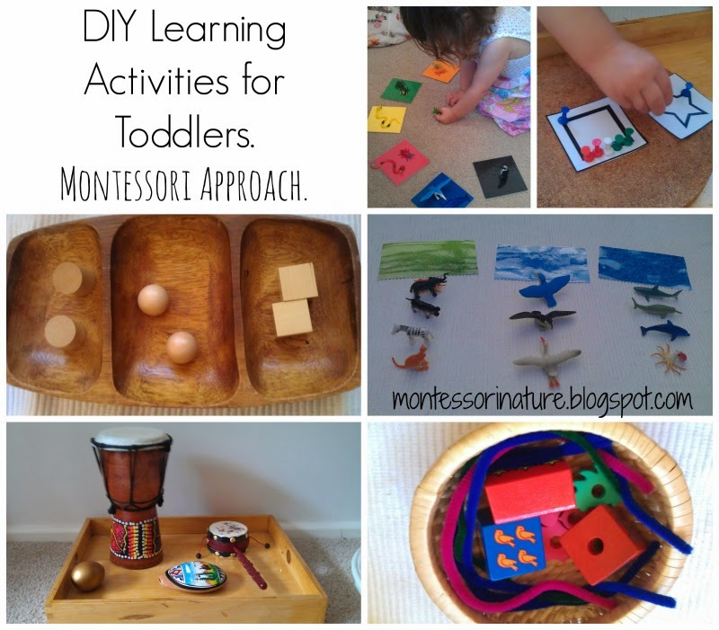 Diy Learning Activities For Toddlers Montessori Approach