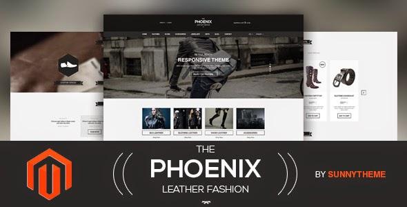 The Phoenix Magento Responsive Theme