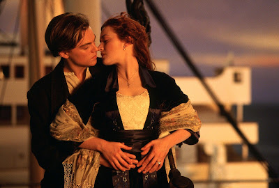 Titanic, Leonardo DiCaprio, Kate Winslet, Directed by James Cameron