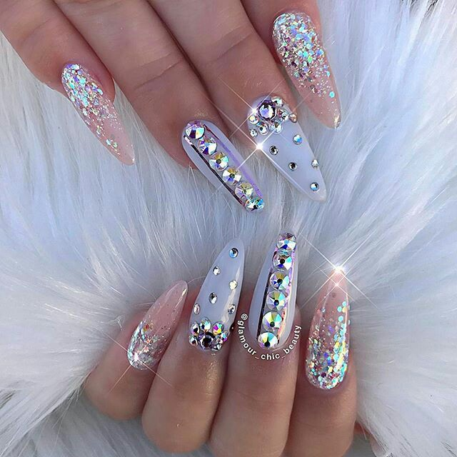 Crystal nail arts