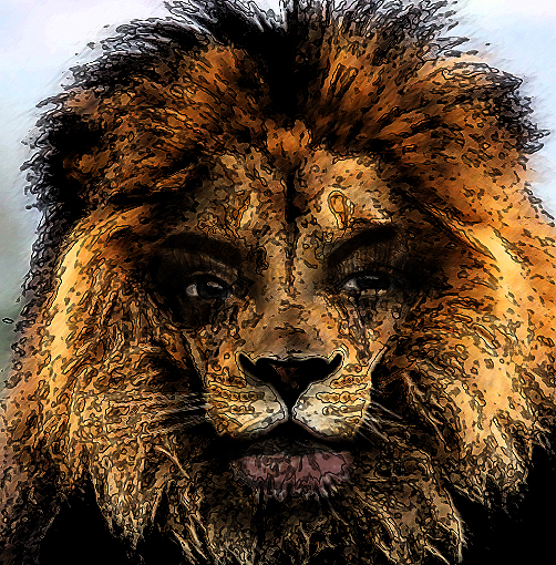 African folktale story, never provoke your wife to turn into a lion teaches women are dangerous creatures when provoked.