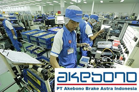 Lowongan Kerja PT. Akebono Brake Astra Indonesia, Jobs: Engineering Section Head, Workshop Section Head, IT Staff.