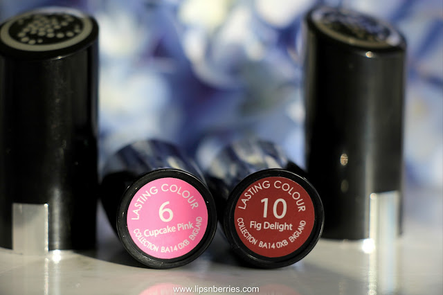 Collection cosmetics fig delight lipstick swatch