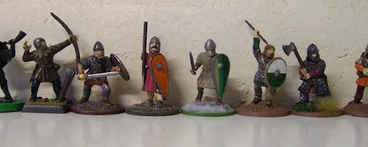 Dark age figure scale picture in 28mm