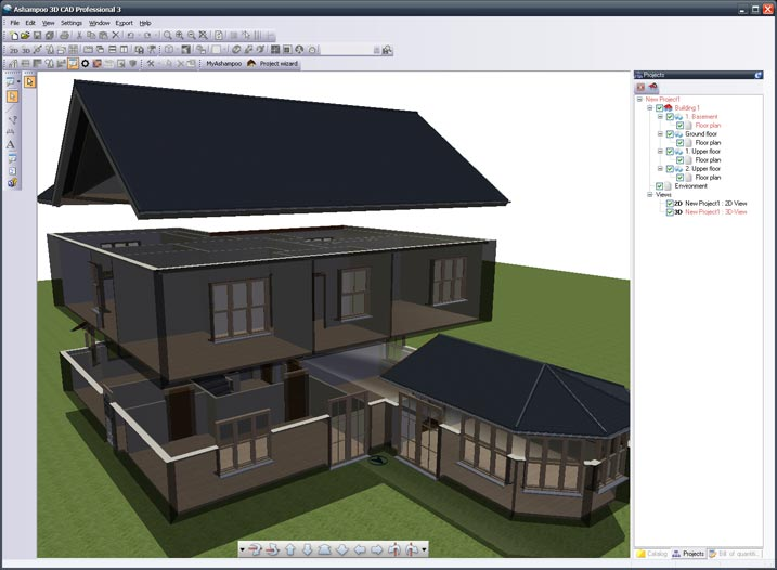 Best software for you ashampoo 3d cad professional 3 discount Software to make 3d house plan
