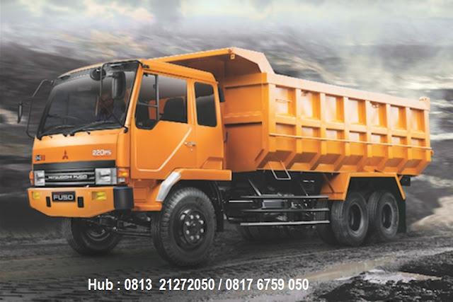 paket kredit dp rendah mitsubishi fuso dump truck 2020