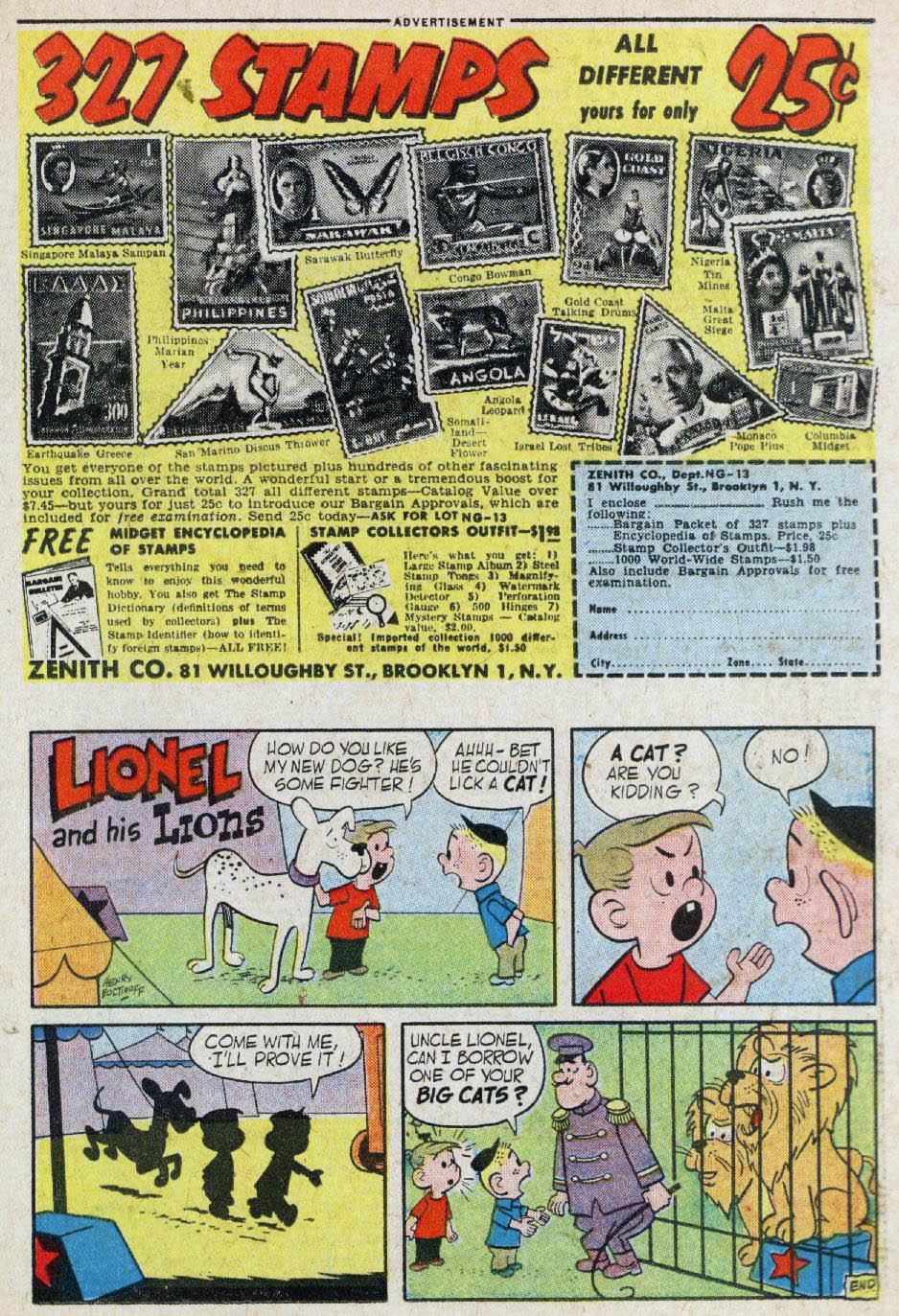 Read online Adventure Comics (1938) comic -  Issue #236 - 23