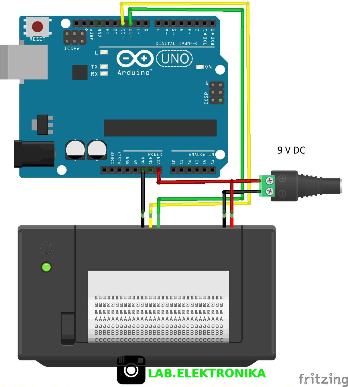 Cara Program Thermal Printer Menggunakan Arduino