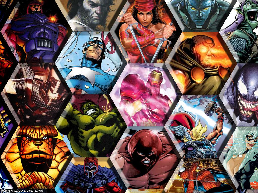Marvel comics wallpaper naked