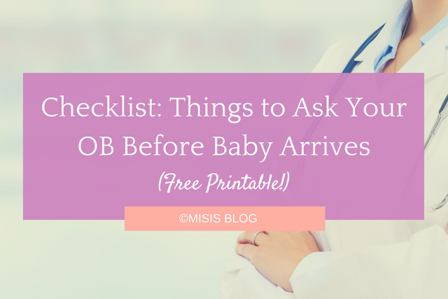 Things to Ask Your OB Before Baby Arrives