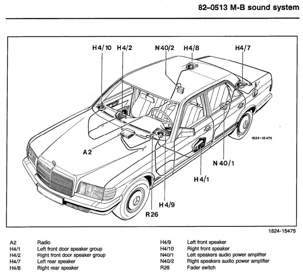 Need Wiring Diagram for Speakers  Page 2  MercedesBenz