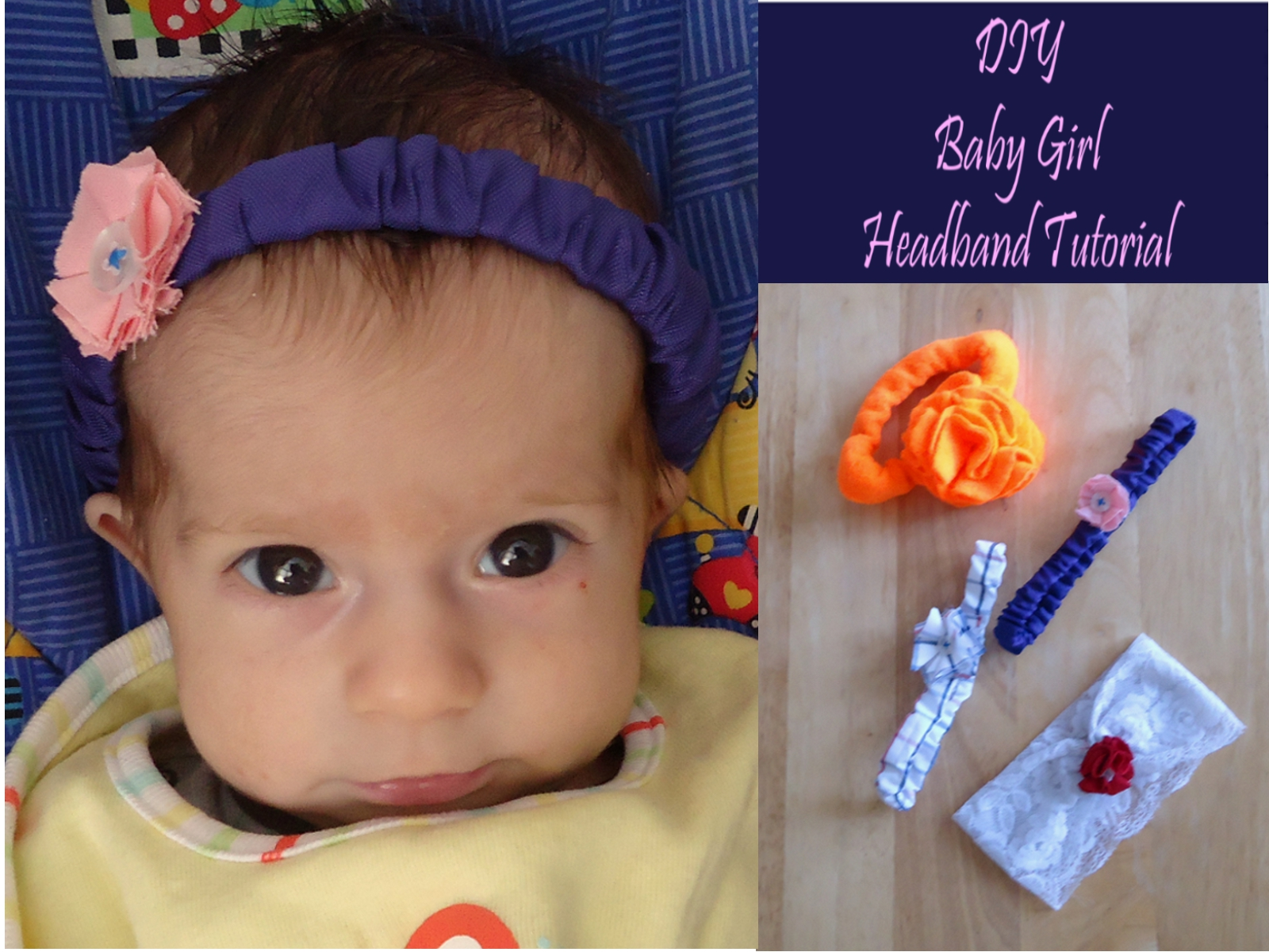 Baby Girl Headband Tutorial dfe72a7d3b3